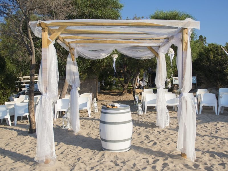 Wedding La Tavernetta Beach